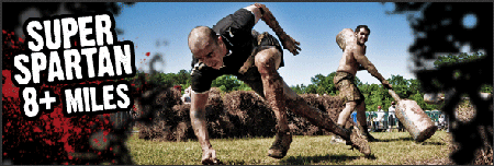 Super Spartan - ARE YOU SPARTAN TOUGH?
