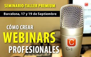 Cómo crear Webinars profesionales - Seminario Taller...