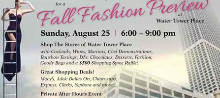 Fall Fashion Preview at Water Tower Place