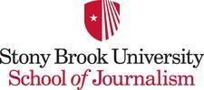 Stony Brook University School of Journalism logo