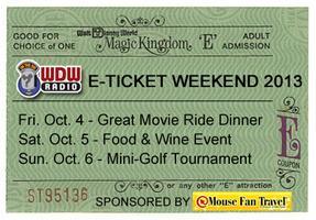 WDW Radio ETicket 2013 - The Great Movie Ride Dinner