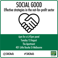 Social Good,  Effective strategies in the...
