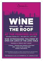 "Wine on the Roof ""Making Al Fresco Sexy Again"""