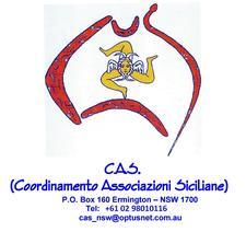 C.A.S. - Coordinamento delle Associazioni Siciliane del New South Wales logo