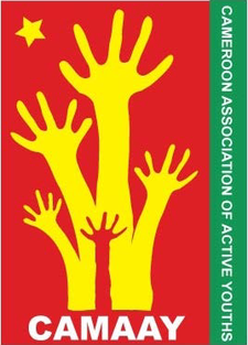 The Cameroon Association of Active Youths (CAMAAY) logo