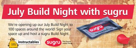 July Build Night with sugru!!