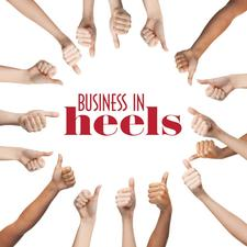 BUSINESS IN HEELS ILLAWARRA BRANCH logo