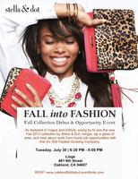 Fall into Fashion! Stella & Dot Fall Line Debut and...