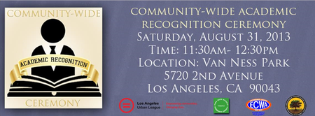 Community-Wide Academic Recognition Ceremony