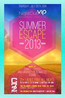 """Thursday 07/25: """"Summer Escape"""" - 18 to Party 