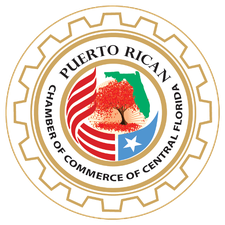 Puerto Rican Chamber of Commerce of Central Florida logo