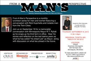 From a Man's Perspective featuring Mayor R.T. Rybak