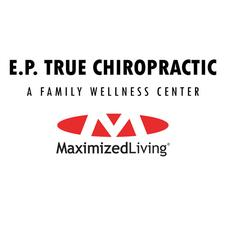 E.P. True Chiropractic logo