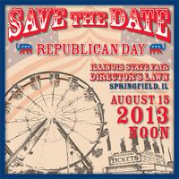 Republican Day Rally at the Illinois State Fair