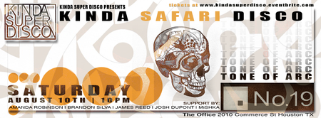 Kinda Safari Disco w/ Tone of Arc