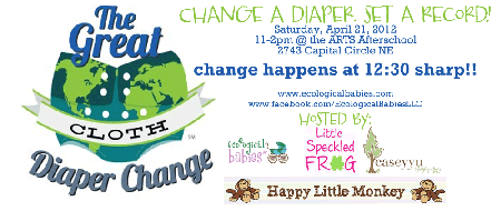 The Great Cloth Diaper Change - Tallahassee