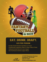 Eat. Drink. Draft.