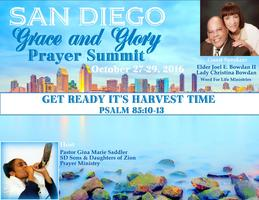 San Diego Grace and Glory Prayer Summit 2016