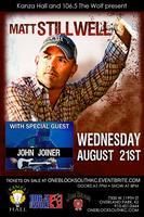 Matt Stillwell Live at Kanza Hall With Special Guest John Jo...