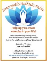 Energetic Holistic Faire
