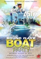 Sound Wave Boat Party (Nautical Empress Boat)