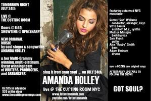 AMANDA HOLLEY LIVE! JULY 24, 2013
