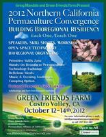 2012 Northern California Permaculture Convergence:...