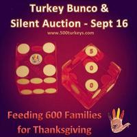 5th Annual Turkey Bunco & Silent Auction