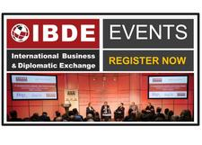International Business and Diplomatic Exchange (IBDE) logo