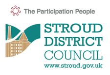 Participation People with Stroud District Council logo