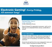 Free Tween Teen Electronic Gaming!