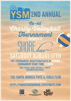 YSM's 2nd Annual Co-Ed Charity Volleyball Tournament...