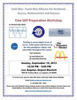Free SAT Prep Workshop