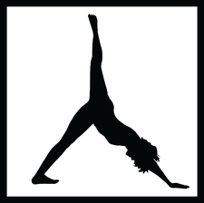 COLE ZACCARIA, founder & lead instructor of 'Pop Up Yoga Paris' logo