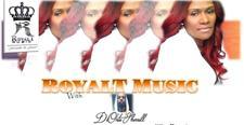 Frances Toney AKA RoyalTMuzic logo