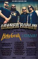 11/5: ORANGE GOBLIN, HOLY GRAIL, LAZER/WULF & SINISTER...
