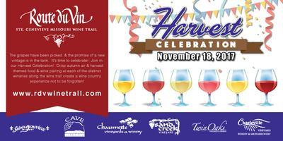 Harvest Celebration Wine Trail 2017