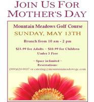 Mountain Meadows Mother's Day Brunch