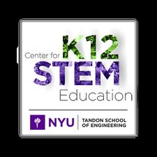NYU Center for K12 STEM Education logo