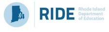 Rhode Island Department of Education logo