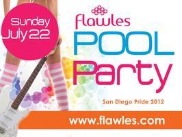 FlawLes Pride Pool Party