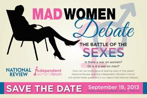 Mad Women Debate • The Battle of the Sexes
