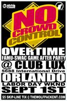 NOCROWDCONTROL ORLANDO * SUNDAY SEPT 1ST * CLUB LUX *...