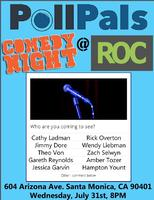 PollPals Comedy Night @ ROC Santa Monica