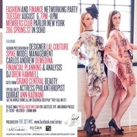 Fashion And Finance Networking Event