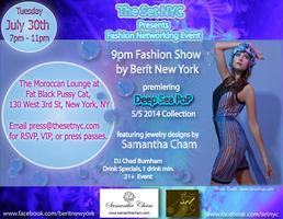Fashion Networking Event and Fashion Show by Berit NY...