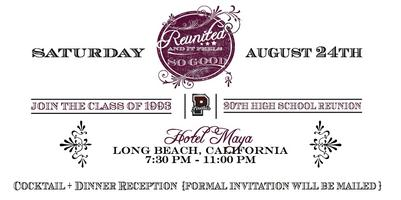"Paramount High School ""Class of 1993"" 20th Reunion"