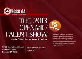 RCCG GA Open Mic/Talent Show