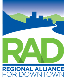 Regional Alliance for Downtown logo