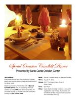 Special Occasion Candlelit Dinner